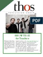 Ethos Drum Study Guide