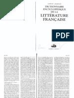 verbete flaubert - dictionnaire e. de la lit. française