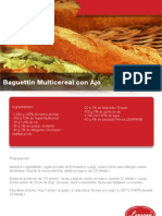 Baguettin Multicereal Con Ajo