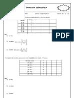 Examen Mensual de Estadistica 4