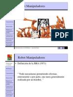 Morfologia Del Robot Manipulador
