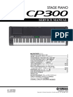 Yamaha CP-300 Service Manual