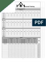 Periodização Padronizada (Modelo)