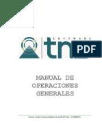 Manual Operaciones Generales TNS