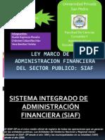 Siaf Finanzas Publicas