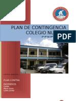 Plan de Contingencia, Colegio Nuevos Senderos