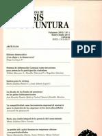 Analisis de Coyuntura Volumen Xvii No 1 Enero Junio 2011