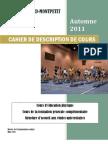 Cahier Descrp.cours a-2011 Lg