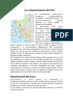 expo Regiones y departamentos del Perú
