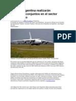 Rusia y Argentina realizarán proyectos conjuntos en el sector aeronáutico