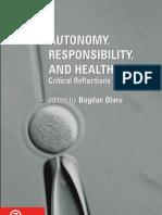 Autonomy, Responsability and Self Care
