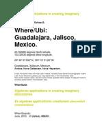 Algebraic Applications in Creating Imaginary Abecedaries