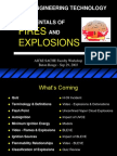 Fundamentals of Fires and Explosions