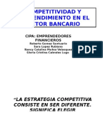 Sector Financiero Crecimiento y Competitividid