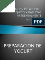 Fabricacion de Yogurt y Queso Artesanalmente