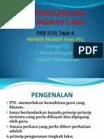 Tajuk4-Prinsip Asas PTL
