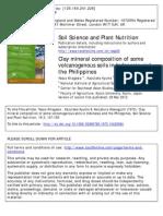 Soil Composition Volcano Indonesia