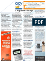 Pharmacy Daily for Mon 01 Jul 2013 - New PBS listings, cabinet shuffle, GMiA, AMH and much more