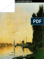 Monet Painting Water