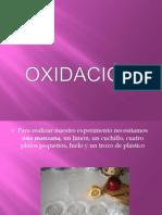 OXIDACIÓN