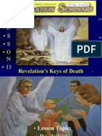 Lesson 13 Rev Seminars -Revelation's Keys of Death