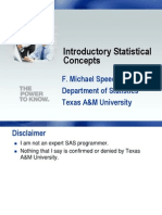 Introductory Statistical Concepts
