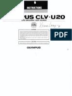 Olympus CLV U20