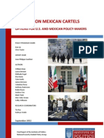 The War on Mexican Cartels - options for U.S. and Mexican policy-makers