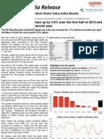 RP Data Rismark Home Value Index 1 July 2013 FINAL (3)