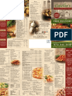 Casellas Deli Menu