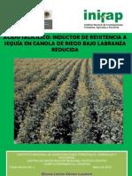 Acido Salicilico,Inductor de Resistencia a Sequia en Canola de Riego Bajo Labranza Reducida
