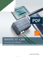 Brochure Simatic s7-1200 Es