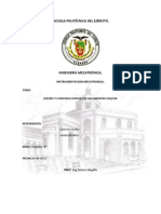 Informe Final Tacometro