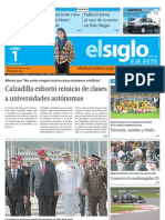 Elsiglo Eje Este Lunes 01-07-2013