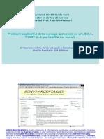 Problemi applicativi della surroga ipotecaria ex art. 8 D.L. 7/2007  (c.d. portabilità dei mutui)