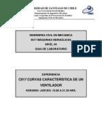 C917 Curvas Característica De Un Ventilador