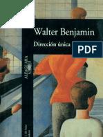 Benjamin Walter - Direccion Unica.pdf