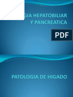Patologia Hepatobiliar y Pancreatica