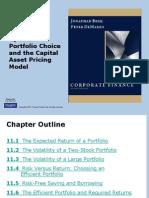 Berk Chapter11 Optimal Portfolio Choice Capm 111029180143 Phpapp02