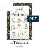 Portraits & Teachers