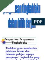 Behaviour Management teknik
