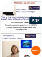 AVPN Webinar on Pilotlight UK