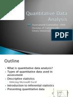 Quantitative Data Analysis Presentation