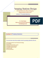 Pumping Stations Design Lecture 4
