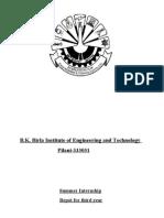 47576486 Switch Yard Training Report NTPC Barh