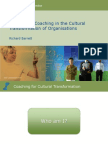 Richard-Barrett the Role of Coaching in the Cultural Transformation of Organizations
