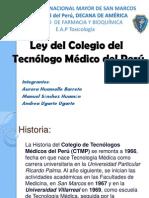 Ley Del Tecnologo