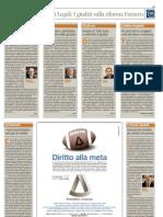 I Giudizi sulla Riforma Fornero - Intervista a Stefano Trifirò