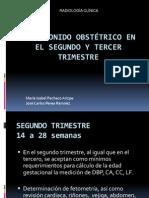 Ultrasonido Obstetrico en El Segundo y Tercer Trimestre