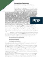 Energy Efficient Transformers-Paper